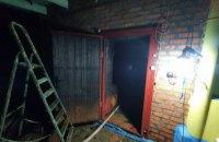 В Криворожском районе спасатели ликвидировали возгорание в хозпостройке
