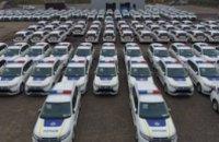 Полиция получила первые 635 гибридных Mitsubishi