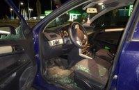 Украинец на авто пытался прорваться через границу (ВИДЕО)
