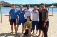 В Днепре состоялись спортивные соревнования между членами Радикальной партии в Днепропетровской области (ВИДЕО)