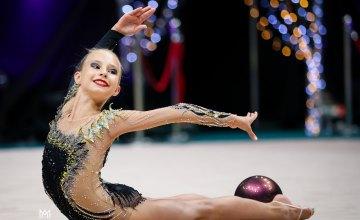 Дніпрянки стали призерками чемпіонату України з художньої гімнастики