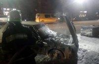 В Днепропетровской области сгорела «Таврия» (ВИДЕО)