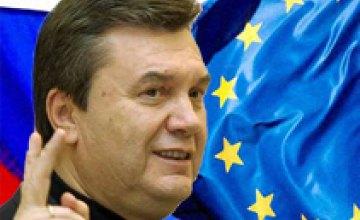Виктор Янукович по ошибке причислил Израиль к Европе