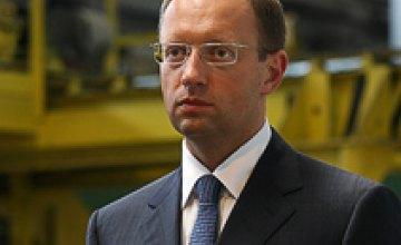 Арсений Яценюк: «Фронт перемен» попытались исключить из избирательной кампании