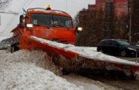 Днепропетровский горсовет заявляет об очистке 100% основных магистралей города от снега