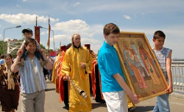В Днепропетровске дети пройдут крестным ходом