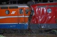 В Сербии столкнулись пассажирский и грузовой поезда