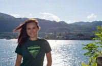 Новая победа OceanWoman: Анастасия Даугуле покорила горное озеро в Италии