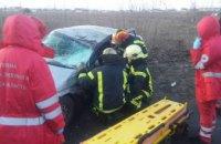 Масштабное ДТП в Киевской области: погибло 2 человека (ФОТО)