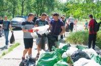 В Днепре привели в порядок часть набережной в рамках акции ДТЭК «Чистый город». Энергетики собрали 5 тонн мусора (ВИДЕО)
