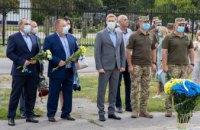 Олександр Бондаренко нагородив кращих військовослужбовців бригади «Холодний Яр», які повернулися із зони АТО/ООС