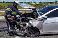 На Днепропетровщине столкнулись иномарка и минивэн: пятеро пострадавших (ФОТО)
