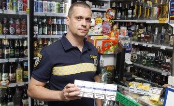 У Дніпрі виявили ще дві точки, де незаконно продавали алкогольні та тютюнові вироби