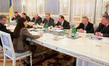 Ющенко встретился с мэрами городов, принимающих Евро-2012