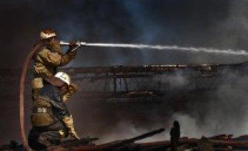 Пожар в «Новом континенте» ликвидирован