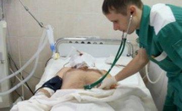 Мать не узнала обгоревшего сына, - Сергей Рыженко