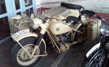 В Днепре можно увидеть уникальные ретромотоциклы BMW