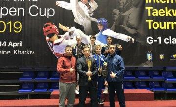 Днепровские спортсмены завоевали 4 золотые медали на международном турнире по тхэквондо