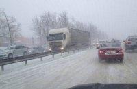 Ситуация на дорогах Днепропетровщины: дорожные службы работают в усиленном режиме