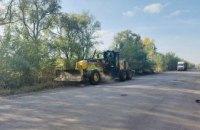 На Днепропетровщине стартовал ремонт еще одного участка трассы Знаменка-Луганск-Изварино – до границы с Кировоградщиной