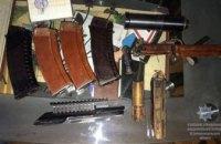 У жителя Днепропетровщины полиция изъяла целый арсенал оружия