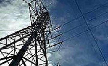 Частный сектор Днепродзержинска остался без электроэнергии