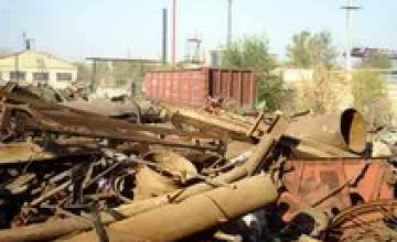 В Днепропетровске закрыли 7 нелегальных пунктов приема металлолома