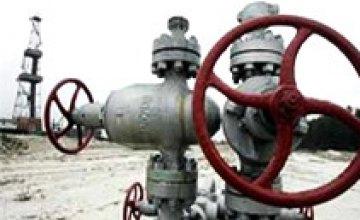 Предприятия Днепропетровской области на 83% рассчитались за газ, потребленный в 2008 году