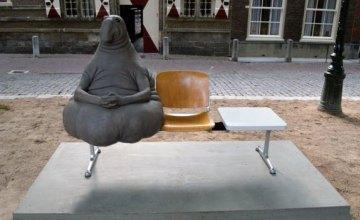 В центре Днепра может появиться статуя Ждуна (ФОТО)