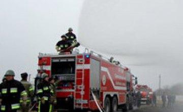 Павлоградский химзавод приобрел современный пожарный автомобиль