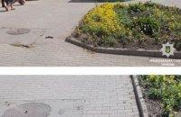 В центре Павлограде мужчина выстрелил в лицо полицейскому