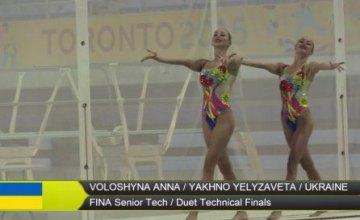 Украинские синхронистки впервые в истории завоевали серебро на чемпионате мира