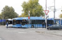 Днепр строится с любовью: результаты первого месяца работы электробусов на троллейбусном маршруте №6