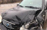 На Днепропетровщине столкнулись две легковушки: пострадала женщина