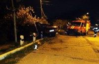 Смертельное ДТП в Днепре: водитель не справился с управлением и влетел в отбойник