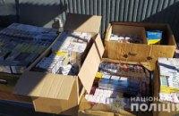 В двух торговых заведениях Терновки изъято более 5 тыс. пачек контрафактных сигарет