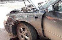 В центре Днепра взорвалась иномарка (ФОТО)