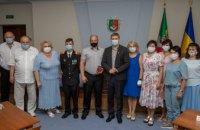Врачи и шахтеры Кривого Рога получили государственные награды