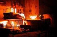 Днепродзержинские металлургические предприятия стали производить меньше продукции