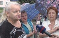 В Першотравенске местные жители митингуют против присоединения к Синельниковскому району