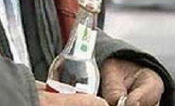 В Кривом Роге алкоголь стал причиной смерти человека