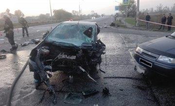 В Днепре произошло смертельное ДТП с участием четырех машин