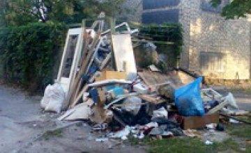 В Днепропетровске производится в разы больше мусора, чем утилизируется