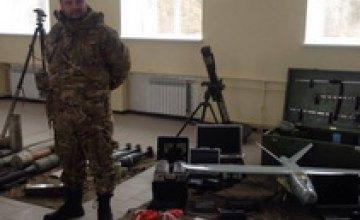 В Днепропетровской области Ярош открыл учебный центр Добровольческой армии