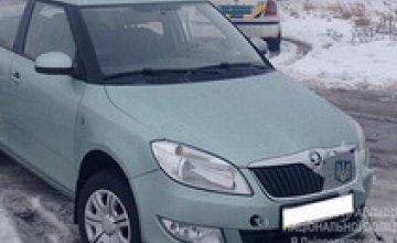 В Кривом Роге полиция разыскала угнанную иномарку