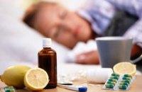 За минувшую неделю гриппом и ОРВИ заболели более 200 тыс.  украинцев