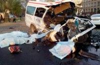 Количество пострадавших в страшной аварии на Днепропетровщине возросло до 21 человека (ФОТО)