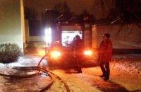 В центре Днепра ночью горел офис, расположенной в 10-ти этажном жилом комплексе (ФОТО, ВИДЕО)