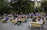 У Дніпрі одночасно понад 200 людей під відкритим небом написали диктант про Олександра Поля