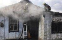 В Днепре во время пожара погиб мужчина (ВИДЕО)